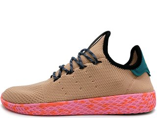 ADIDAS x PHARREL WILLIAMS PW TENNIS HU FOOTWEAR WHITE/ST NOMAD YELLOW/NIGHT MARINE