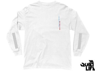 【2017 FALL COLLECTION】THE QUIET LIFE NO SAD CLUB LONG SLEEVE TEE WHITE