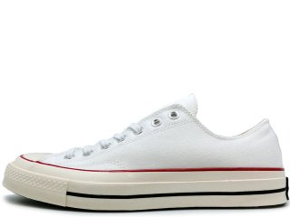 CONVERSE CHUCK TAYLOR ALL STAR '70 OX WHITE/RED/BLUE<BR>コンバース チャックテイラー ホワイト レッド ブルー