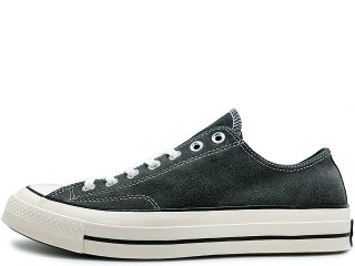 CONVERSE CHUCK TAYLOR ALL STAR '70 OX CHARCOAL SUEDE<BR>コンバース チャックテイラー チャコールスエード