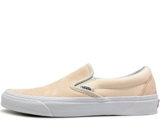 VANS CLASSIC SLIP ON AFTER GLOW/TRUE WHITE<BR>バンズ クラシック スリップオン アフターグロー トゥルーホワイト