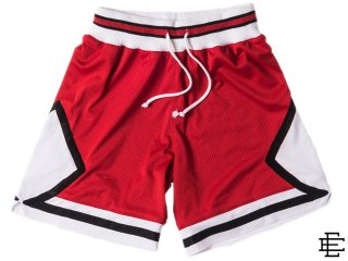 ERIC EMANUEL EE NYC JAM SHORTS RED/WHITE<BR>エリック エマニュエル ニューヨーク ジャムショーツ レッド ホワイト