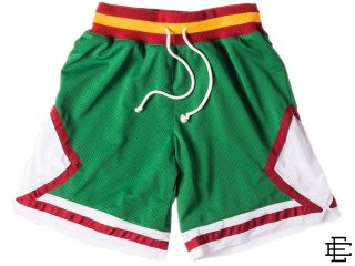 ERIC EMANUEL EE NYC JAM SHORTS GREEN/RED<BR>エリック エマニュエル ニューヨーク ジャムショーツ グリーン レッド