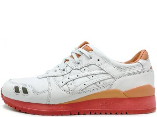 ASICS x PACKER SHOES x J.CREW  GEL LYTE III WHITE BUCK THE 1907 COLLECTION