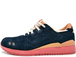 ASICS x PACKER SHOES x J.CREW  GEL LYTE III NAVY BUCK THE 1907 COLLECTION