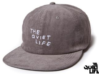 【2017 HOLIDAY COLLECTION】THE QUIET LIFE x NATHAN BELL NATHAN SCRATCH RELAXED SNAPBACK GREY