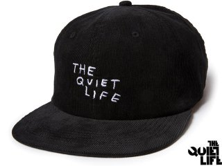【2017 HOLIDAY COLLECTION】THE QUIET LIFE x NATHAN BELL NATHAN SCRATCH RELAXED SNAPBACK BLACK