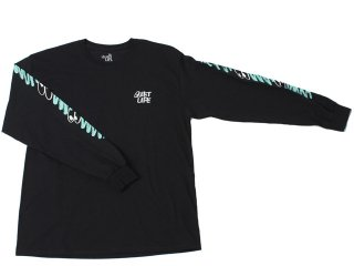 【ARTIST CAPSULE COLLECTION】THE QUIET LIFE x JAMES JARVIS JARVIS LONG SLEEVE TEE BLACK