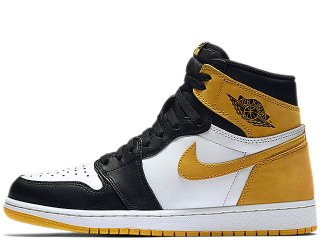 NIKE AIR JORDAN 1 RETRO HIGH OG BEST HAND IN THE GAME COLLECTION  YELLOW OCHRE