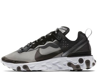 NIKE REACT ELEMENT 87 ANTHRACITE<BR>ナイキ リアクト エレメント アンスラサイト