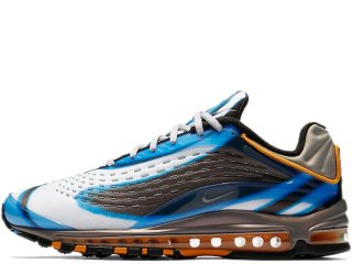 NIKE AIR MAX DELUXE OG PHOTO BLUE/WOLF GREY-ORANGE PEEL-BLACK<BR>ナイキ エアマックス デラックス フォトブルー