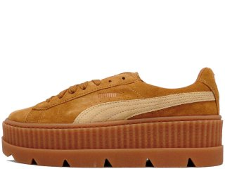 PUMA x FENTY by RIHANNA CLEATED CREEPER SUEDE WN'S GOLDEN BROWN<BR>プーマ フェンティ リアーナ ウィメンズ クリーテッド クリーパー
