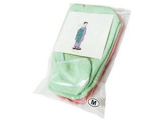 TABIBITO 足袋フットカバー ソックス 2Pセット MINT/LIGHTPINK 足袋バレエ 足袋パンプス マルジェラ足袋 日本製