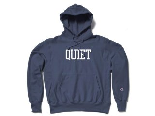 THE QUIET LIFE CHAMPION REVERSE WEAVE HOOD NAVY