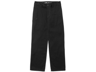 PUBLISH BRAND FALCON COTTON TWILL RELAX PANTS BLACK<BR>パブリッシュブランド ファルコン
