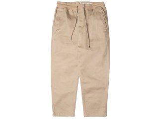 PUBLISH BRAND CASPIAN STRETCH COTTON TWILL RELAX ANKLE PANTS KHAKI