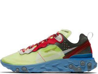 NIKE x UNDERCOVER REACT ELEMENT 87 VOLT/UNIVERSITY RED<BR>ナイキ アンダーカバー リアクト エレメント ヴォルト ユニバーシティレッド