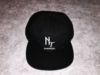 NAVIETOKYO  6 PANEL CAP GLOW IN THE DARK LOGO STITCH LOGO