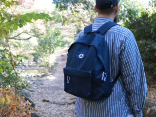CHAIN REACTION CAPSULE COLLECTION BACK PACK NAVY