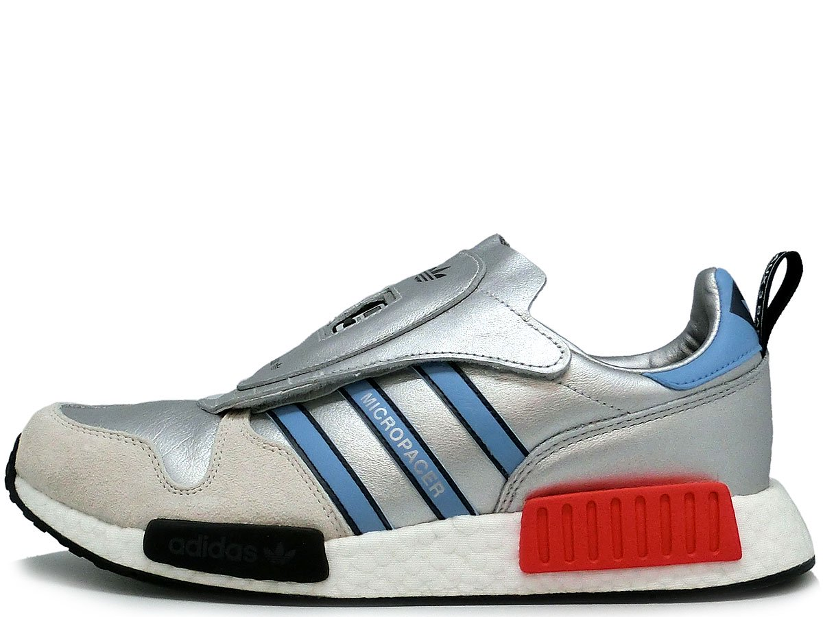 035282a183a9d5 ADIDAS MICROPACER x R1 NEVER MADE SILVER アディダス マイクロペーサー ネバーメイド シルバー G26778