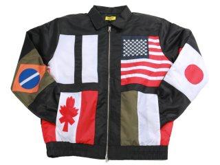 CHINATOWN MARKET NATIONAL FLAG JACKET<BR>チャイナタウンマーケット ナショナルフラッグ ジャケット