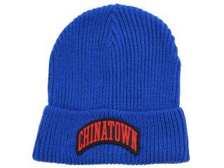 CHINATOWN MARKET ARCHE BEANIE BLUE<BR>チャイナタウンマーケット アーチビーニー ブルー