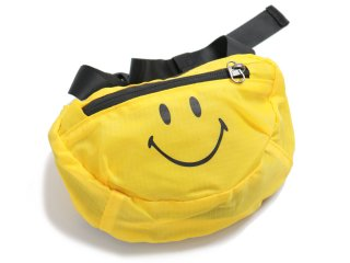 CHINATOWN MARKET SMILEY CROSS BODY BAG YELLOW<BR>チャイナタウンマーケット スマイリー クロスボディバッグ イエロー
