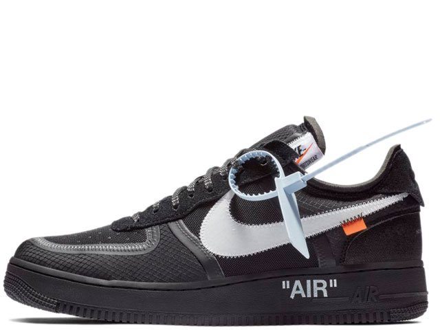 NIKE x OFF-WHITE AIR FORCE 1 LOW THE