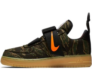 NIKE x CARHARTT WIP AIR FORCE 1 UTILITY LOW PRM WIP TIGER CAMO