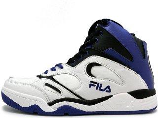 FILA KJ7 WHITE/BLUE<BR>フィラ ケビンジョンソン ホワイト ブルー