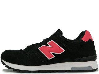 NEW BALANCE ML565WB BLACK/RED<BR>ニューバランス ブラック レッド