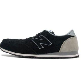 NEW BALANCE U420PPY BLACK/GREY<BR>ニューバランス ブラック グレー