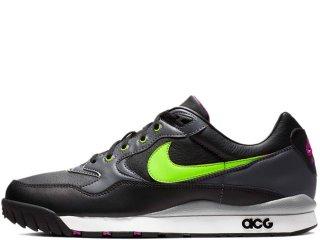 NIKE ACG AIR WILDWOOD BLACK/ELECTRIC GREEN<BR>ナイキ オールコンディションギア エアワイルドウッド ブラック エレクトリックグリーン