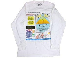 H33M PERFECT PYRAMID LONG SLEEVE WHITE<BR>ヒーム パーフェクト ピラミッド ロングスリーブ ホワイト