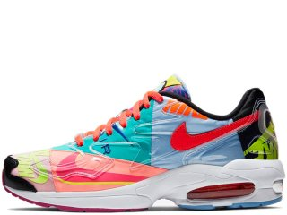 NIKE x ATMOS AIR MAX 2 LIGHT QS VINTAGE PATCHWORK<BR>ナイキ アトモス エア マックス ライト ヴィンテージ パッチワーク