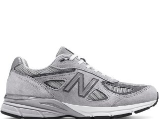 NEW BALANCE M990GL4 GREY MADE IN THE USA<BR>ニューバランス グレー アメリカ製 Dワイズ
