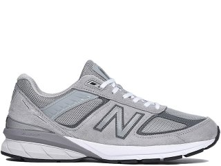 NEW BALANCE M990GL5 V5 GREY MADE IN THE USA<BR>ニューバランス グレー アメリカ製 Dワイズ