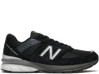 NEW BALANCE M990BK5 V5 BLACK MADE IN THE USA<BR>ニューバランス ブラック アメリカ製 Dワイズ