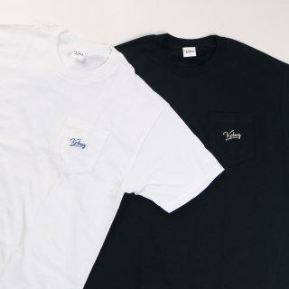KEBOZ EMBROIDERY POCKET TEE
