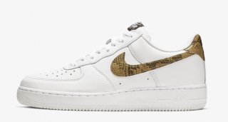 NIKE AIR FORCE 1 LOW RETRO PRM QS 96 SNAKE<BR>ナイキ エアフォース 1 ロー 白蛇