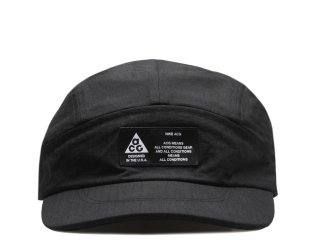 NIKE ACG TAILWIND VISOR CAP BLACK<BR>ナイキ オールコンディションギア アジャスタブル テイルウィンド バイザー キャップ ブラック