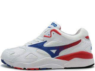 MIZUNO SKY MEDAL WHITE/BLUE/RED<BR> ミズノ  スカイ メダル ホワイト ブルー レッド