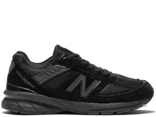 NEW BALANCE M990BB5 BLACK MADE IN THE USA<BR>ニューバランス ブラック アメリカ製 Dワイズ