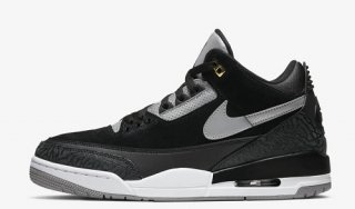 NIKE AIR JORDAN 3 TINKER BLACK CEMENT