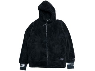 MIZUNO BOA JACKET BLACK<BR>ミズノ ボアジャケット ブラック