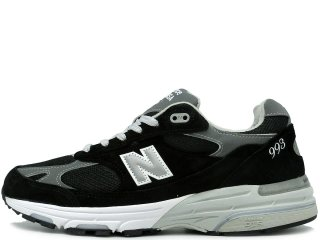 NEW BALANCE MR993BK BLACK MADE IN THE USA<BR>ニューバランス ブラック アメリカ製 Dワイズ