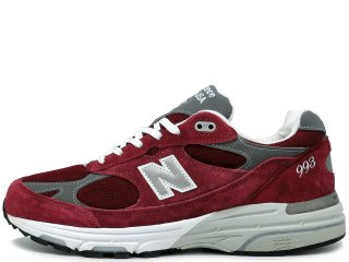NEW BALANCE MR993BU BURGUNDY MADE IN THE USA<BR>ニューバランス バーガンディー アメリカ製 Dワイズ