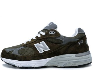 NEW BALANCE MR993MG OLIVE MADE IN THE USA<BR>ニューバランス オリーブ アメリカ製 Dワイズ