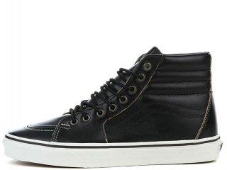 VANS SK8 HI BLACK/WHITE<BR>バンズ スケートハイ ブラック ホワイト