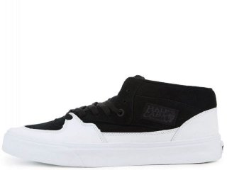 VANS HALF CAB BLACK/WHITE<BR>バンズ ハーフキャブ ブラック ホワイト